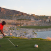 A view from a tee at Victory Course from Verrado Golf Club